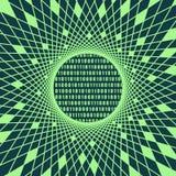 Σκηνικό δυαδικού κώδικα διανυσματική απεικόνιση