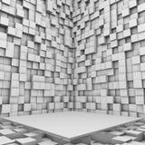 σκηνικό λευκό Στοκ φωτογραφίες με δικαίωμα ελεύθερης χρήσης