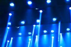 Σκηνικό μπλε φως Στοκ Φωτογραφία
