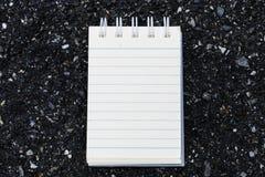 Σκηνικό πετρών της Λευκής Βίβλου που χρησιμοποιείται για τη λήψη σημειώσεων Στοκ εικόνες με δικαίωμα ελεύθερης χρήσης