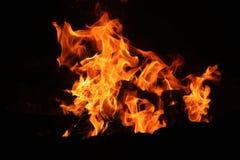 Σκηνικό Firey Στοκ φωτογραφία με δικαίωμα ελεύθερης χρήσης