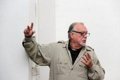 Σκηνοθέτης του Lamberto Bava Στοκ εικόνα με δικαίωμα ελεύθερης χρήσης