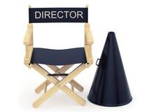 Σκηνοθέτης απεικόνιση αποθεμάτων