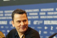 Σκηνοθέτης Christian Petzold σε Berlinale 2018 Στοκ εικόνα με δικαίωμα ελεύθερης χρήσης