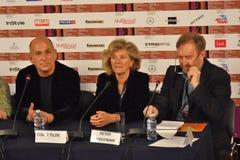 Σκηνοθέτης Ferzan Ozpetek στο διεθνές φεστιβάλ ταινιών της 40ης Μόσχας Στοκ Εικόνα
