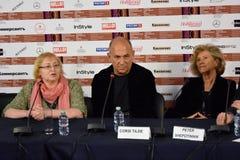 Σκηνοθέτης Ferzan Ozpetek στο διεθνές φεστιβάλ ταινιών της 40ης Μόσχας Στοκ φωτογραφία με δικαίωμα ελεύθερης χρήσης