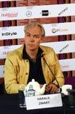 Σκηνοθέτης Harald Zwart στο διεθνές φεστιβάλ ταινιών της 40ης Μόσχας Στοκ φωτογραφίες με δικαίωμα ελεύθερης χρήσης