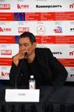 Σκηνοθέτης SABU από το διεθνές φεστιβάλ ταινιών της Ιαπωνίας 41$ος Μόσχα στοκ εικόνες