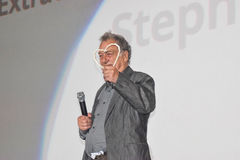 Σκηνοθέτης Stephen Frears που λαμβάνει την τιμητική καρδιά του Σαράγεβου στοκ φωτογραφίες με δικαίωμα ελεύθερης χρήσης