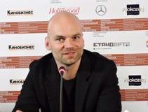 Σκηνοθέτης Thomas Stuber στο διεθνές φεστιβάλ ταινιών της 40ης Μόσχας Στοκ φωτογραφίες με δικαίωμα ελεύθερης χρήσης