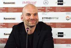 Σκηνοθέτης Thomas Stuber στο διεθνές φεστιβάλ ταινιών της 40ης Μόσχας Στοκ Εικόνες