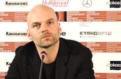 Σκηνοθέτης Thomas Stuber στο διεθνές φεστιβάλ ταινιών της 40ης Μόσχας Στοκ Φωτογραφίες