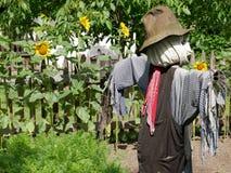 σκιάχτρο κήπων Στοκ Φωτογραφία