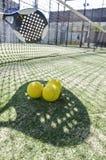Σκιά αντισφαίρισης κουπιών στοκ εικόνες με δικαίωμα ελεύθερης χρήσης