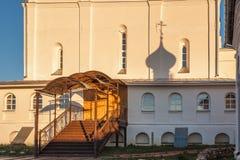 Σκιά από έναν σταυρό Στοκ Εικόνες