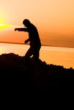 σκιά ατόμων Στοκ φωτογραφία με δικαίωμα ελεύθερης χρήσης
