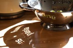 Σκιά κειμένων ζυμαρικών Στοκ Φωτογραφίες