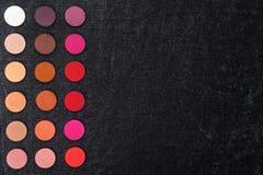 Σκιά ματιών που τίθεται στις επίπεδες σειρές Στοκ φωτογραφία με δικαίωμα ελεύθερης χρήσης