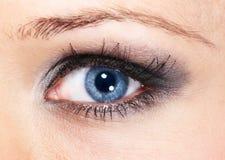 σκιά ματιών στοκ φωτογραφία με δικαίωμα ελεύθερης χρήσης