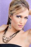 Σκιά ματιών Hairstyle γυναικών Στοκ Εικόνες