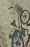 Σκιά ποδηλάτων Στοκ φωτογραφίες με δικαίωμα ελεύθερης χρήσης