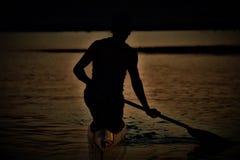σκιά προσώπων Στοκ Εικόνα