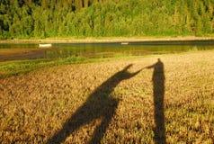 σκιά προτάσεων Στοκ εικόνες με δικαίωμα ελεύθερης χρήσης
