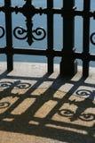 σκιά σιδήρου στοκ φωτογραφίες