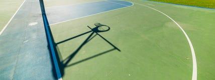 Σκιά στεφανών σε Santa Barbara Στοκ Εικόνες