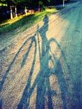 Σκιά στο σούρουπο Στοκ Εικόνα