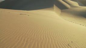 Σκιά σύννεφων άμμου ερήμων timelapse απόθεμα βίντεο