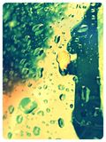 Σκιά της βροχής Στοκ Φωτογραφία