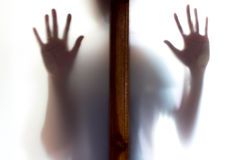 Σκιά της γυναίκας Στοκ Φωτογραφίες