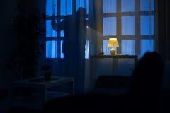 Σκιά του διαρρήκτη Στοκ εικόνες με δικαίωμα ελεύθερης χρήσης
