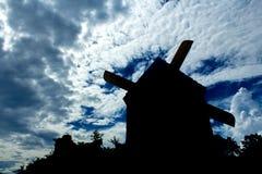 Σκιά του σπιτιού στροβίλων Στοκ φωτογραφία με δικαίωμα ελεύθερης χρήσης