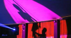 σκιά τσίρκων Στοκ Φωτογραφία
