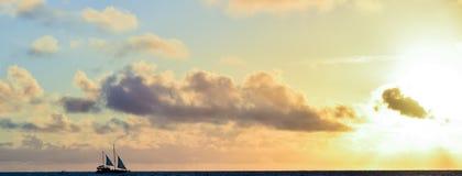 Σκιά των πανιών Στοκ Φωτογραφία