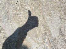 Σκιά χεριών Στοκ εικόνες με δικαίωμα ελεύθερης χρήσης