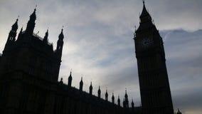 Σκιά Big Ben Στοκ εικόνα με δικαίωμα ελεύθερης χρήσης