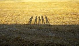 Άνθρωποι σκιών Στοκ Φωτογραφίες