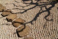 σκιά zen Στοκ Εικόνες