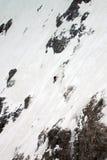 Σκιέρ ορεσιβίων Στοκ εικόνες με δικαίωμα ελεύθερης χρήσης