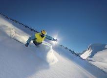 σκιέρ Στοκ φωτογραφίες με δικαίωμα ελεύθερης χρήσης