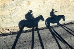 Σκιές αλόγων Στοκ φωτογραφία με δικαίωμα ελεύθερης χρήσης