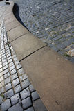 Σκιές και γραμμές φω'των Στοκ Φωτογραφία