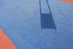 Σκιές και παιδική χαρά σύστασης Στοκ φωτογραφίες με δικαίωμα ελεύθερης χρήσης