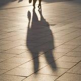 Σκιές και σκιαγραφίες Στοκ Εικόνες