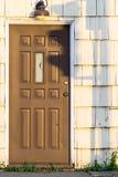 Σκιές σε μια πόρτα Στοκ Εικόνα