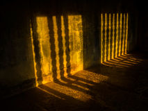 Σκιές σε Angkor Wat Στοκ Εικόνες