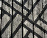 Σκιές στο ξύλο Στοκ εικόνα με δικαίωμα ελεύθερης χρήσης